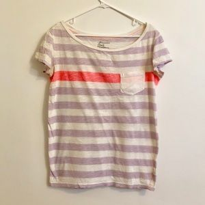 Striped Slouchy Fit T-Shirt